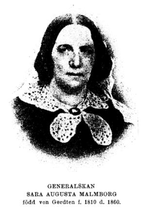 Sara Augusta Malmborg - Sara Augusta Malmborg