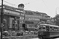 Sarajevo's tram over Miljacka (20681748411).jpg