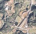 Satsuma Yoshida interchange air photo.jpg