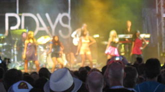 Ego (The Saturdays song) - The Saturdays performing Ego at V Festival