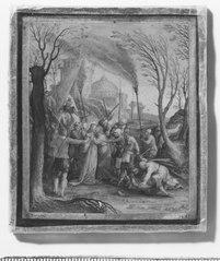 Szenen aus dem Leben Jesu. Verrat von Jesus durch Judas