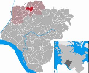 Schenefeld, Steinburg - Image: Schenefeld in IZ