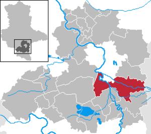 Schkopau - Image: Schkopau in SK