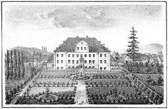 Welda - Schloss Welda in 1840