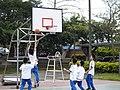School Boys of HHJH Playing Basketball 2010-4-16.jpg