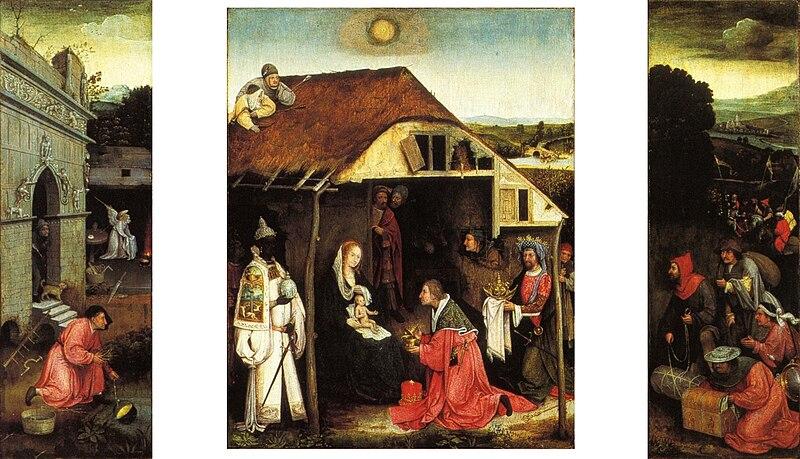 File:School of Jheronimus Bosch Adoration of the Magi Anderlecht.jpg