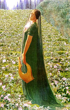 Elysian Fields by Carlos Schwabe, 1903