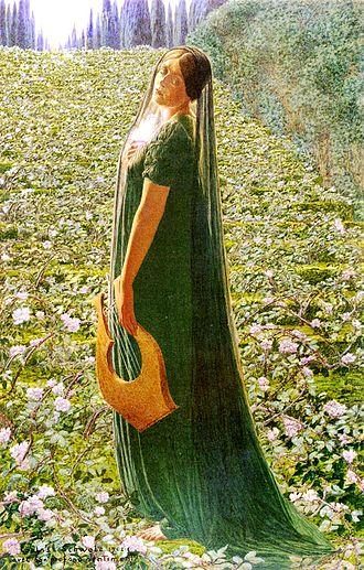 Elysium - Elysian Fields by Carlos Schwabe, 1903