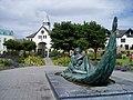 Sculpture near Malahide Marina - geograph.org.uk - 1363928.jpg