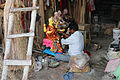 Sculpture workshop in Kumortuli, Kolkata 01.jpg