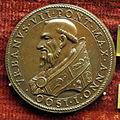 Scuola romana, medaglia di urbano VII, 1590.JPG