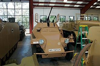Leichter Panzerspähwagen - Sd.Kfz. 222 in private collection.