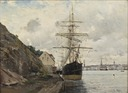 Sea Approach to Stockholm (Axel Lindman) - Nationalmuseum - 18373.tif