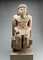 Seated Statue of the Nomarch Idu II of Dendera MET 98.4.9 EGDP019059.jpg