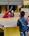 Seattle - kids playing table tennis in Hing Hay Park, 2018 (50252070436).jpg