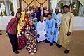 Secertary Kerry Poses for a Group Photo With Participants in the Youth Exchange and Study Program in Sokoto (29071909772).jpg