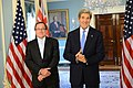 Secretary Kerry Meets With New Zealand Foreign Minister McCully (8757708371).jpg