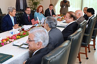 National Security Council (Pakistan) - The delegation of US National Security Council meets with Pakistan's NSC in Islamabad. 2013