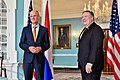 Secretary Pompeo and Dutch Foreign Minister Blok Address Reporters in Washington (42194987871).jpg