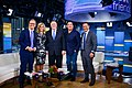 Secretary Pompeo on set of Fox and Friends with Actor Dean Cain (47541751911).jpg