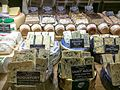Selection of cheese at Sydney deli shop.jpg