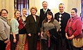 Senator Stabenow meets with Goshen College Michigan Environmental Science Students. (13404440413).jpg
