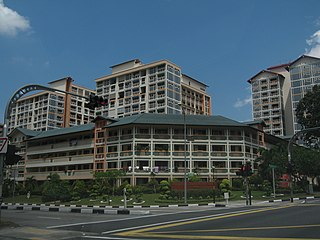 Serangoon Planning Area and HDB Town in North-East Region ----, Singapore