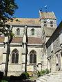 Serans (60), église Saint-Denis, vue partielle depuis le sud.JPG