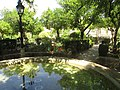 Shady Middle Gardens and terraced pool, Alcázar, Cordoba, 21 July 2016 (2).JPG