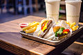 Shake Shack dinner in New Haven (13922730448).jpg