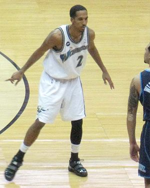 Shaun Livingston - Livingston with Washington in 2010