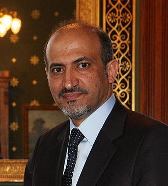 Syrian Interim Government - Image: Sheikh Ahmad al Assi al Jarba