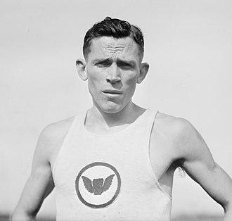 Mel Sheppard - Sheppard in 1912 Olympics in Stockholm