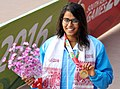 Shivani Kataria (India) won the gold medal in 200 meter women Swimming, at 12th South Asian Games-2016, in Dispur, Guwahati on February 06, 2016.jpg