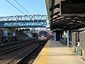 Shore Line East train arriving at New Haven State Street station, May 2013.JPG