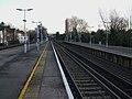 Shortlands station Catford westbound platform look east3.JPG