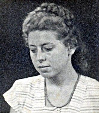 Shulamit Aloni - Image: Shulamit Aloni as a young girl