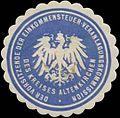 Siegelmarke Der Vorsitzende der Einkommensteuer-Veranlagungskommission W0328179.jpg