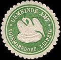 Siegelmarke Gemeinde-Amt Volkmarsdorf-Leipzig W0314217.jpg