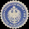 Siegelmarke K. Marine Vorposten-Halbflottille Ost W0357564.jpg