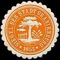 Siegelmarke Siegel der Stadt Oranienburg W0262998.jpg