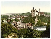 The Sigmaringen government was based in the city's ancient castle.