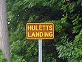 Sign entering Huletts Landing edited.jpg