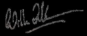 Unterschrift von Willem-Alexander
