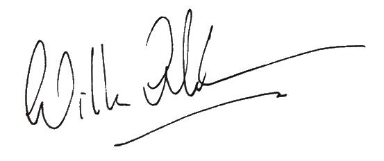 Signature of Willem-Alexander