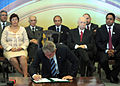 Signing of provisional measures for 2014 FIFA World Cup & 2016 Summer Olympics 2010-07-19 5.jpg