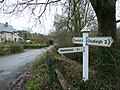 Signpost in Ashcombe - geograph.org.uk - 1129720.jpg