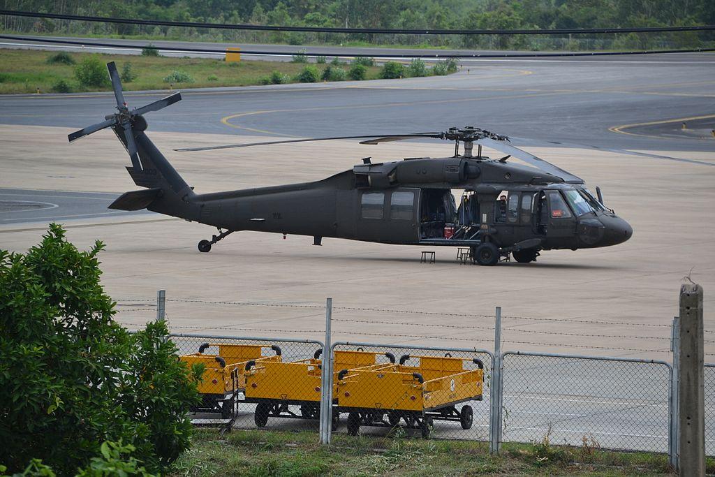 Sikorsky S.70A of the Royal Thai Army at Khon Kaen-KKC.jpg