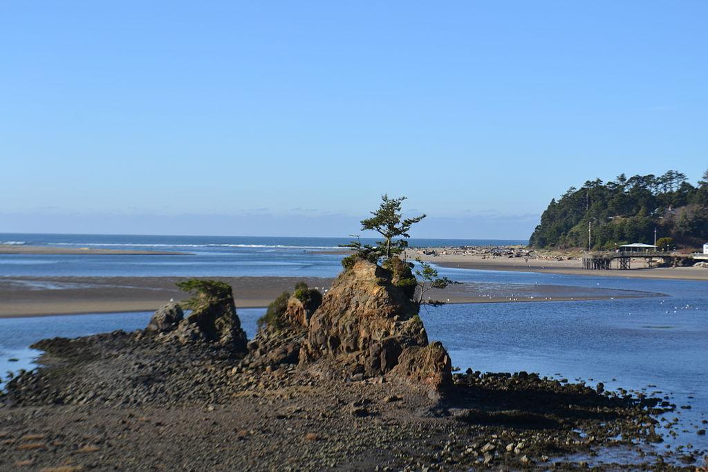 File Siletz Bay Lincoln City Oregon Jpg Wikimedia Commons