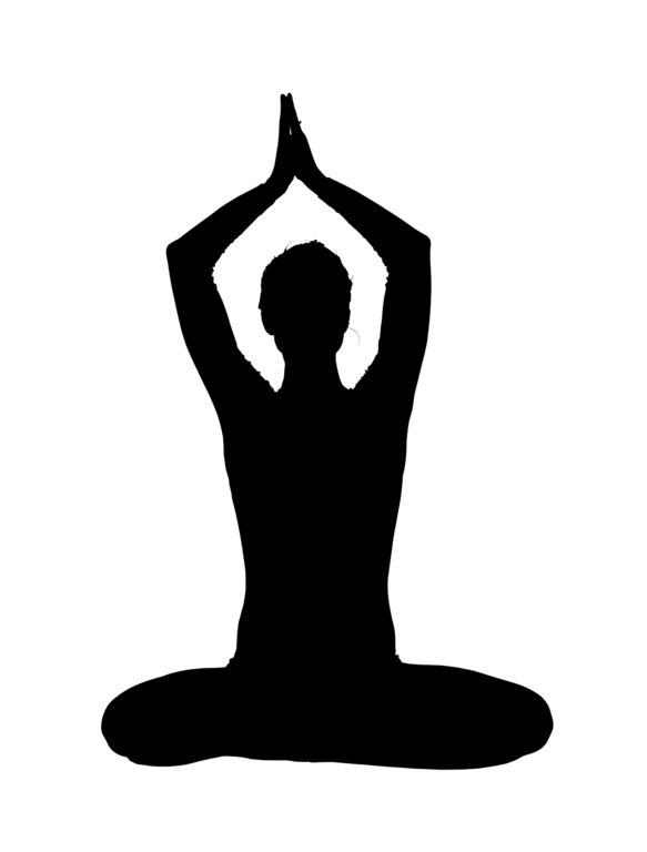 File Silhouette Yoga Png Wikimedia Commons